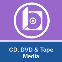 CD, DVD and Tape Media