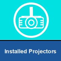 Installed Projectors
