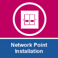 Network Point Installation